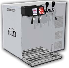 Postmix-Anlage 2 x Sirup 2 x Tafelwasser