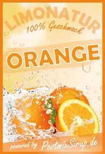 Postmix Orange-Orangenlimonade